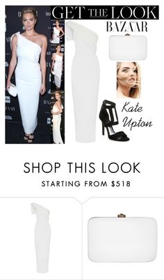 """""""Kate Upton Harper's Bazaar Icons Party September.9.2016"""" by valenlss ❤ liked on Polyvore featuring Maticevski, Tamara Mellon and Rocio"""