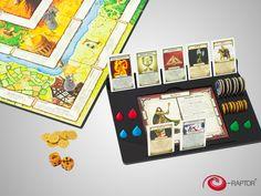 Board Game Organizer compatible with Talisman 4th edition | e-raptor.pl