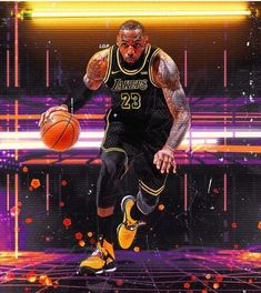 Milestones of College Basketball. Basketball is a favorite pastime of kids and adults alike. Lebron James Lakers, King Lebron James, King James, Lebron James Poster, Sports Basketball, College Basketball, Basketball Players, Lebron James Wallpapers, Nba Wallpapers