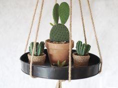 DIY hanging tray