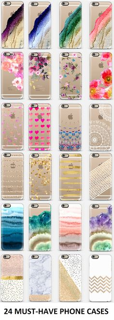24 must-have phone cases omgosh these are so darn pretty! I really need all of these