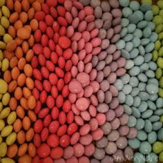 Smarties, backen, Amerikaner, vielevielebunteSmarties