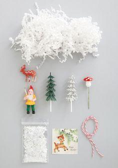 festive forestry jar