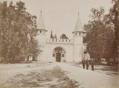 Topkapı Sarayı Orta Kapısı Pascal Sébah fotoğrafı, 1870
