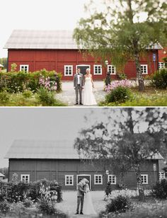 A Sweet Sweden Wedding, Reminds me of our great friends farm in Sweden, where we could have the opportunity to get married at. Ahhh I will just keep dreaming