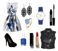 """""""Untitled #3"""" by shzurfluh on Polyvore featuring Latelita, Jeremy Scott, Michael Antonio, Chanel, Essie and Lord & Berry"""
