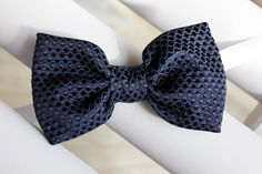 navy blue bow tie christmas