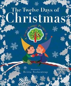 Introduce children to the traditional song, The Twelve Days of Christmas, in this beautiful new book, featuring illustrations by Britta Teckentrup. The peep-through pages reveal each new Christmas gift, creating a stunning layered effect. Best Christmas Books, Childrens Christmas, Twelve Days Of Christmas, The Night Before Christmas, Christmas Gift Guide, A Christmas Story, Little Christmas, Christmas Pictures, Christmas Themes