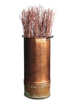 Beautiful Copper Indoor Accents.