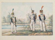 La Garde Nationale. Les premières unités de la garde nationale ont été organisées spontanément dans le département de Posen. Il faut savoir qu' un semblant de garde existait déjà à Varsovie. Mise sur pied en novembre 1806 juste avant le départ des prussiens,...