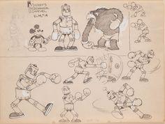 1930 character model sheet - Google Search