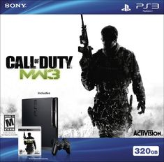 Playstation 3 320GB HW Bundle – Call of Duty: Modern Warfare 3 Price can be updated – Check Price Now This is The Best Selling