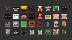 Minecraft All Mobs HD Wallpaper