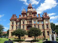 Lockhart Tx BBQ Capital of Texas! Caldwell County Courthouse in Lockhart, Tx-110 S Main St, Lockhart, TX