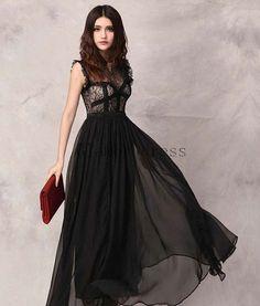 Black Flowing Dress – fashion dresses