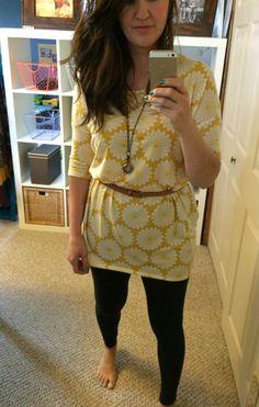 #lularoe #irmatunic #leggings I wonder if I could belt my tunics...
