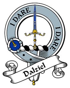 Dalziel Family Crest apparel, Dalziel Coat of Arms gifts