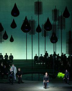Klaus Grünberg – Set and lighting design for Wagner's Lohengrin, Staatsoper Wien, 2005