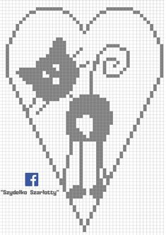 Small Cross Stitch, Cross Stitch Designs, Cross Stitch Patterns, Crochet Snowflake Pattern, Christmas Crochet Patterns, Cat Cross Stitches, Cross Stitching, Knitting Paterns, Pixel Pattern