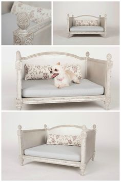 Items similar to The Grand - Vintage Pet Bed on Etsy