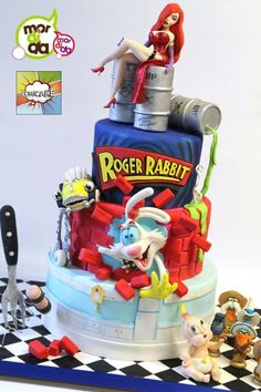 Roger Rabbit Cake - Cake by Daniela Garza