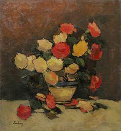 Stefan Luchian Post Impressionism, Impressionist, Frasier Crane, Flower Art, Anemone, Flower Paintings, Masters, Google, Vases