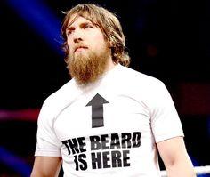 He has the greatest beard ever.   22 Reasons Why Everyone Should Love The WWE's Daniel Bryan
