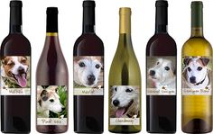 Did you know that the rescue offers our own line of handcrafted wines with proceeds benefiting the dogs? If not, check them out! They're divine! >> http://bit.ly/1B6dj87