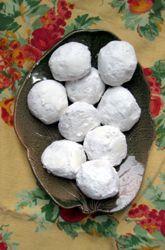 Mexican Wedding Cookies - yum!