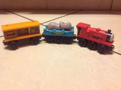 Thomas the Train and Tank Engine & Friends Wooden 2002 Ivo Hugh with Zoo…