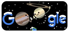 Winter Solstice Great Conjunction: Google Doodle - 21st December   Bioinformatics India Google Doodle Today, Google Doodles, Google Event, The Longest Night, Four Hundred, Evening Sky, Our Solar System, Christmas Star, Winter Solstice