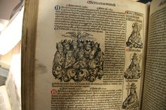 Nurnberg Chronicle at St. Andrews Special Collections