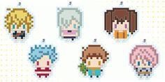 キャラクターを256dot内で表現したキャラクターグッズシリーズに『七つの大罪』が登場!