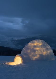 Igloo _ Carpathians Mountain,Ukraine By Alexander Kotenko (Александр Котенко )