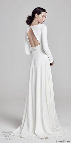 593b2465aa 8 delightful keyhole back wedding dress images