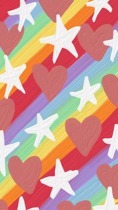 Cute Pastel Wallpaper, Soft Wallpaper, Rainbow Wallpaper, Aesthetic Pastel Wallpaper, Painting Wallpaper, Kawaii Wallpaper, Wallpaper Iphone Cute, Disney Wallpaper, Mobile Wallpaper