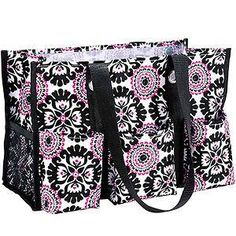 Ends 09/30 – Thirty-One Organizing Utility Tote in Pink Pop Medallion Giveaway