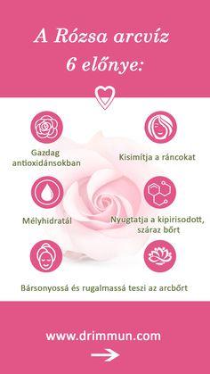 DR. IMMUN® Rózsa arctonik különlegesen finom esszencia, mely kézzel szedett, kiváló minőségű rózsaszirmok, csipkebogyó és aloe vera kivonata. Aloe Vera