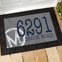 Neck Of The Woods Welcome Doormat . $24.98. Personalized Cabin Door Mats    Personalized Hunter DoormatYour Personalized Door Mat Wu2026