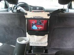 Was thinking I could make a DVD holder for our vehicles for trips. And now I know how, thanks to this blog.