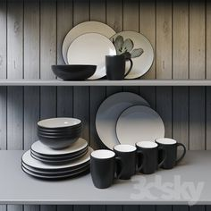 Noritake Colorwave Graphite