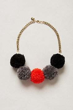 Truffled Poms Necklace