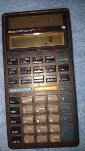 Texas Instruments TI-34 Scientific Calculator