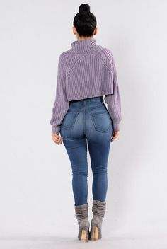 Halina Sweater - Lavender