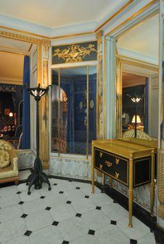 Appartement de Jeanne Lanvin au Musée des Arts décoratifs ,le boudoir, Paris
