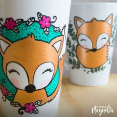Flower Pot Crafts, Clay Pot Crafts, Hand Painted Mugs, Hand Painted Wine Glasses, Painted Flower Pots, Painted Pots, Concrete Crafts, Posca, Pottery Painting