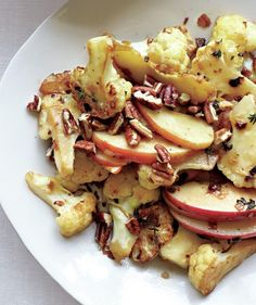 Sautéed Cauliflower and Apples With Pecans