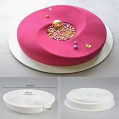 DIY Baking Cake Food Grade Silicone Mold Mousse Cake Rings Decorative Mold