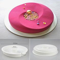 DIY Baking Cake Food Grade Silicone Mold Mousse Cake Rings Decorative Mold