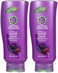Maybe time for a switch from my Fructis - Herbal Essences Totally Twisted Curls & Waves Conditioner